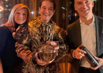 Presentation: BLOCKGIN Austrian Premium Gin. Blockchain sichert Gin